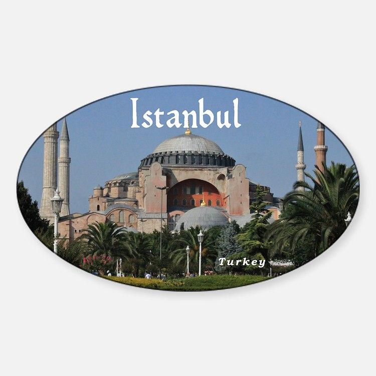 Istanbul_19X12_Bag_HagiaSophia Decal