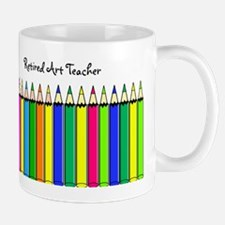 retired Art Teacher 2013 Mug
