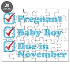 Due in November Puzzle
