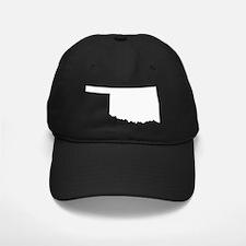 whiteOK Baseball Hat