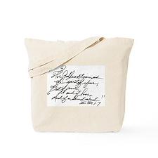II Tim.1:7 Tote Bag