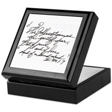 II Tim.1:7 Keepsake Box