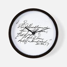 II Tim.1:7 Wall Clock