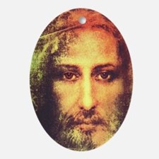 Image of Christ Oval Ornament