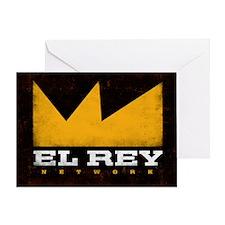 El Rey Black Logo Greeting Card