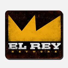 El Rey Black Logo Mousepad