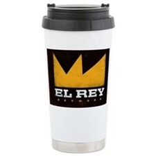 El Rey Black Logo Travel Mug