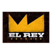 El Rey Black Logo Postcards (Package of 8)