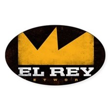 El Rey Black Logo Decal