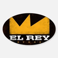 El Rey Black Logo Decal