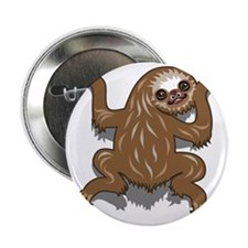 "Baby Sloth 2.25"" Button"