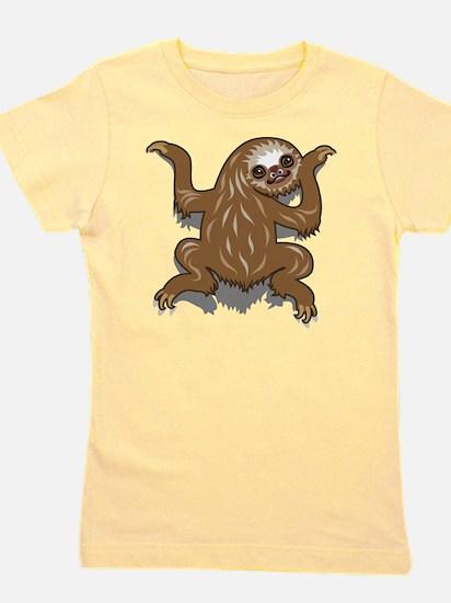 Baby Sloth Girl's Tee