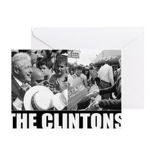 THE CLINTONS Greeting Card