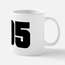 305 Black Slab Style Mug