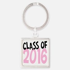Class of 2016 Square Keychain