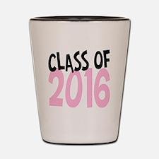 Class of 2016 Shot Glass