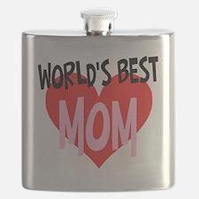 Worlds Best Mom Flask