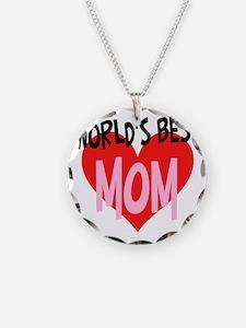 Worlds Best Mom Necklace