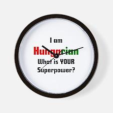 i am hungarian Wall Clock