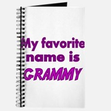 My Favorite name is GRAMMY 2 Journal