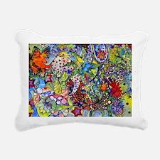 cool Paisley Rectangular Canvas Pillow