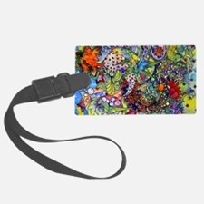 cool Paisley Luggage Tag