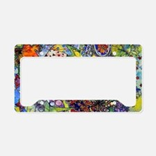 cool Paisley License Plate Holder
