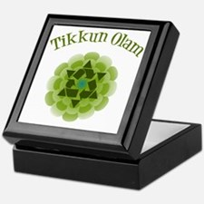 Tikkun Olam Recycle Keepsake Box