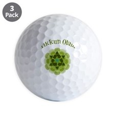 Tikkun Olam Recycle Golf Ball