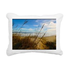SAND DUNES Rectangular Canvas Pillow