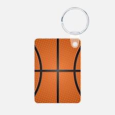 Basketball Pattern Keychains