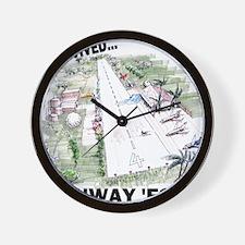 RunwayFore Wall Clock