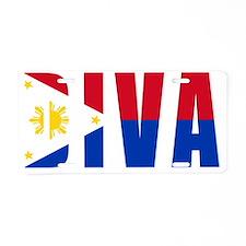 DIVA FILIPINO Aluminum License Plate