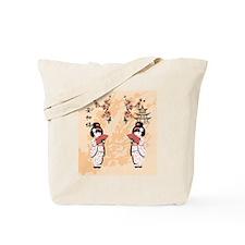japanese girls Tote Bag