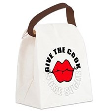 give cook sugar Canvas Lunch Bag