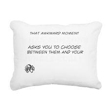 Jungle Curl designs Rectangular Canvas Pillow