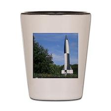 v2 rocket Shot Glass