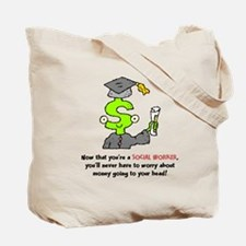 Won't Go To Your Head Tote Bag