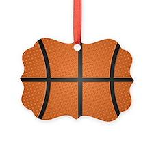 Basketball Pattern Ornament