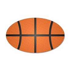 Basketball Pattern Wall Decal Sticker