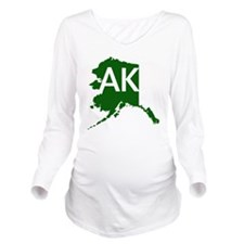 Alaska Long Sleeve Maternity T-Shirt