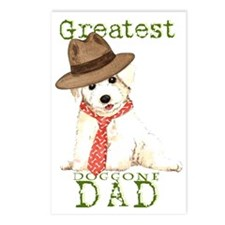 Bichon Dad Postcards (Package of 8)