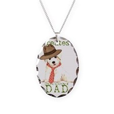 Bichon Dad Necklace
