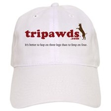 Tripawds Three Legged Dogs Tagline Baseball Cap