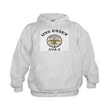 USS Essex CVA 9 Hoodie