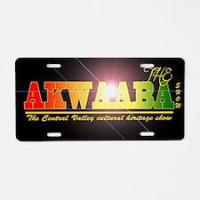 AKWAABALIGHT Aluminum License Plate