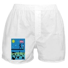Greasy Pole Boxer Shorts