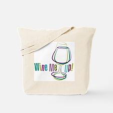 WineMeUp_WHT_FNL-01 Tote Bag