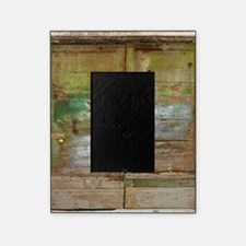 Rustic Green Wood Doors Picture Frame