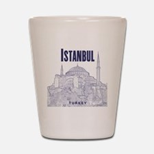 Istanbul_10x10_HagiaSophia_v1_Blue Shot Glass